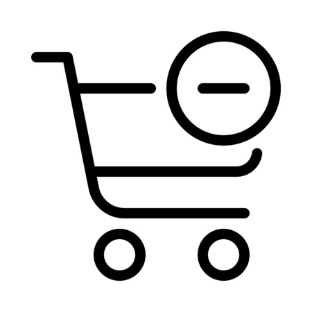 Remove products from shopping cart Ilustração