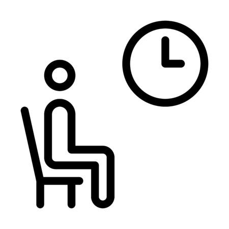 Waiting Room Area Ilustrace