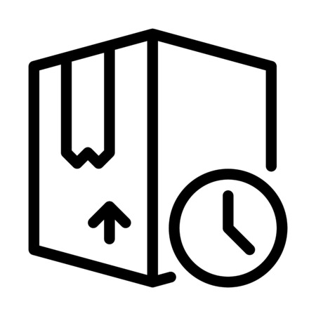 Box Delivery Timing Illustration