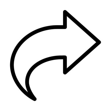 Forward Shape Arrow