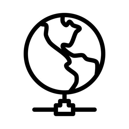Global Network Linking Illustration