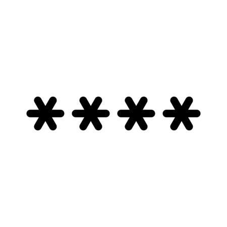 Pin Code or Password Çizim