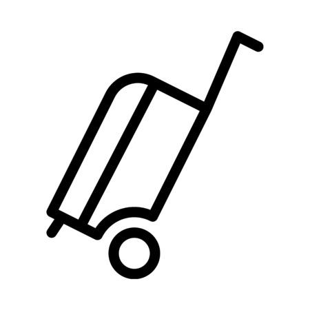Gepäck oder Koffer