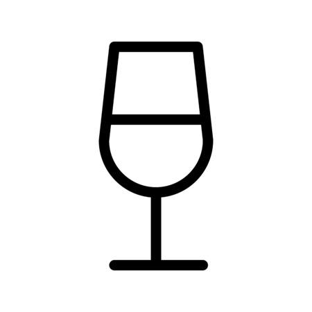 Glass of wine - Alcoholic beverage