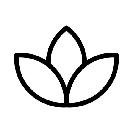 Lotus Spa Symbol Ilustrace