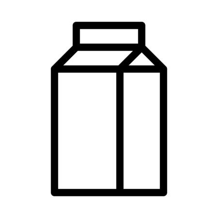 Confezione di cartone di latte