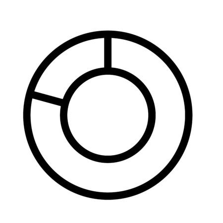 Doughnut Chart Illustration