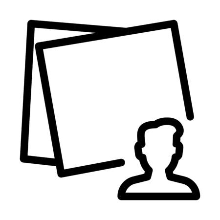 User Online Post Illustration
