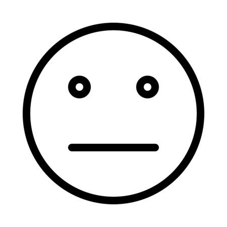 Strait Expression Emoji