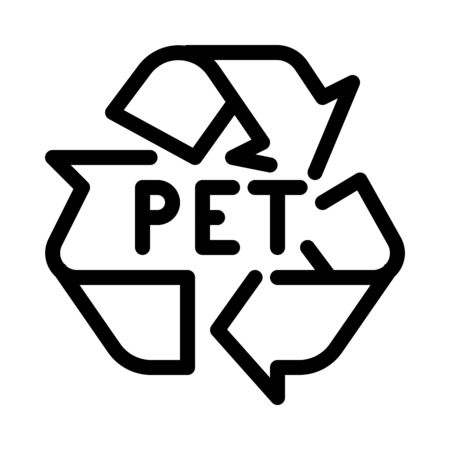 Pet Recycle Symbol