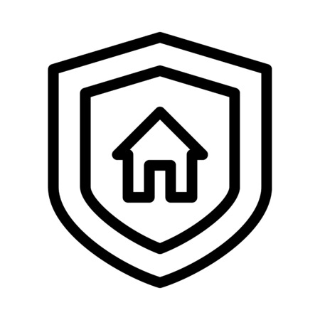 Home Security Symbol Ilustrace