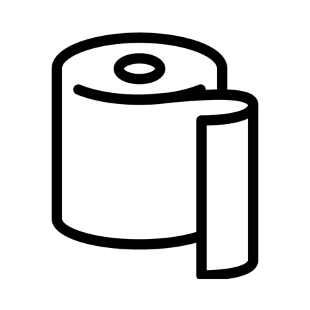 Toilet Paper or Napkins Illustration