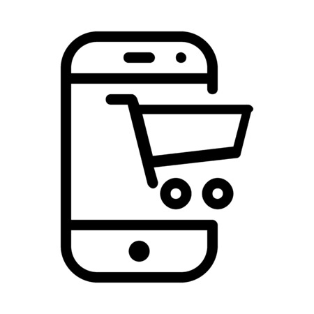 Online Mobile Marketplace Banque d'images - 115131216