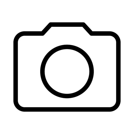 Camera or Photo Symbol Ilustracja