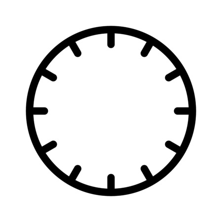 Hour on Wall Clock