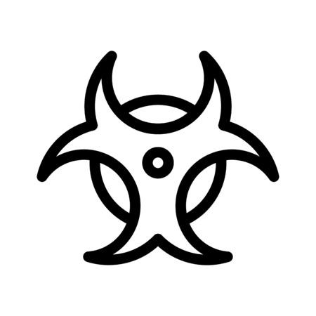 Biohazard Warning Symbol Stock Illustratie