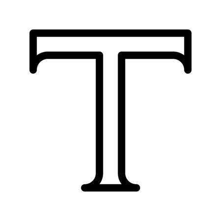 Type tool button