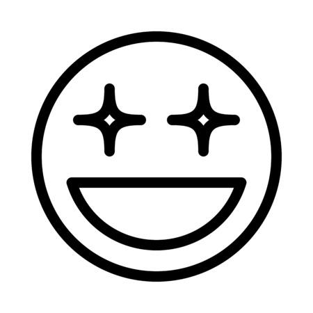 Glitter Eye Smiley