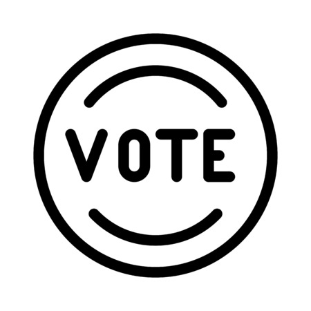 Vote Stamp Symbol