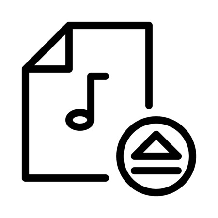 Eject Music File