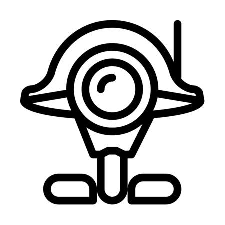 Surveillance Droid Camera Çizim