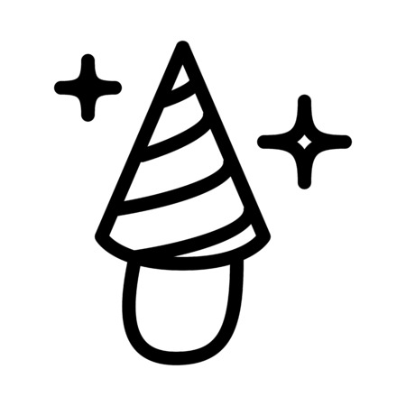 Party Conical Hat