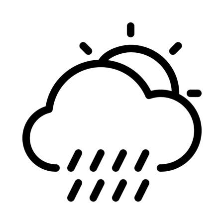 Temps pluvieux en journée