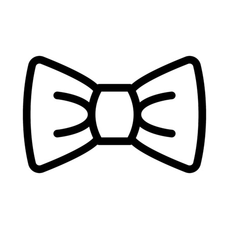 Bow Tie Neckwear Illustration