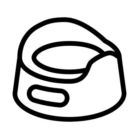 Toddler Potty Training Illustration