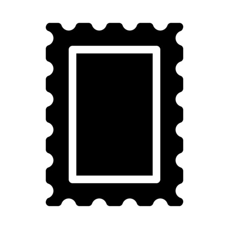 Mail or Letter Stamp Иллюстрация