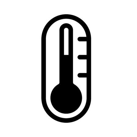 Temperature icon Ilustrace