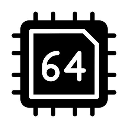 Sixty four Bit Computing 向量圖像