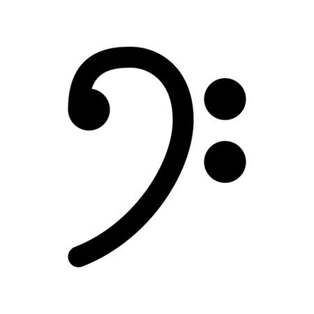Touche de basse Symbole