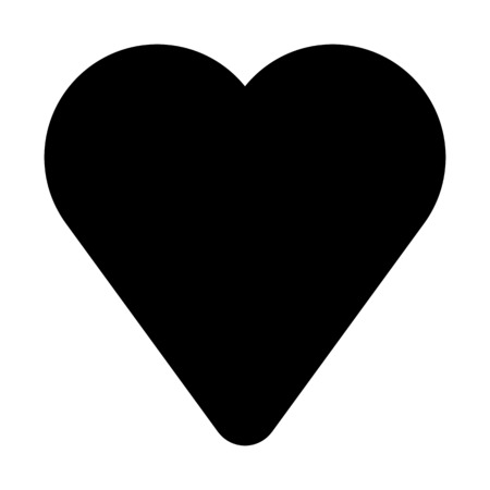 Empty Heart Shape