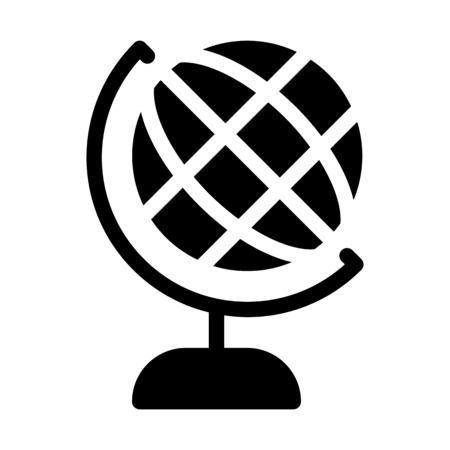 Earth model, Globe Stock Vector - 126154892