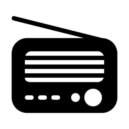 Retro Radio Transmission Çizim