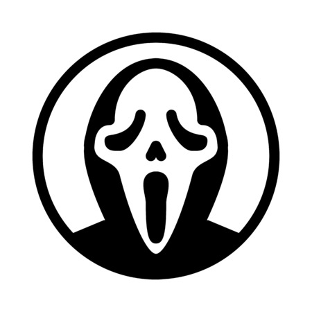 scream ghost mask