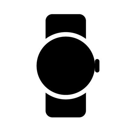 Digital smartwatch device Çizim