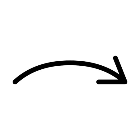 Arc Clockwise Arrow