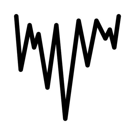 Icicle zigzag illustration Vecteurs