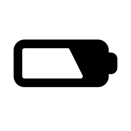 Battery half status