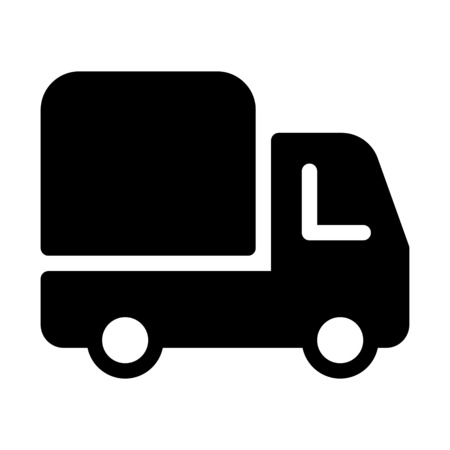 Cargo Delivery Truck Illustration