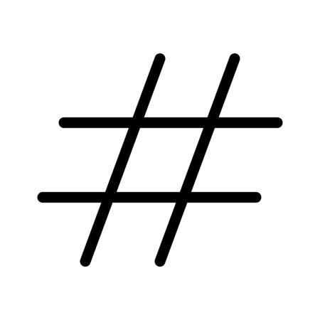 Hash Tag Sign