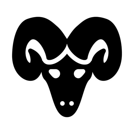 Aries Ram Head