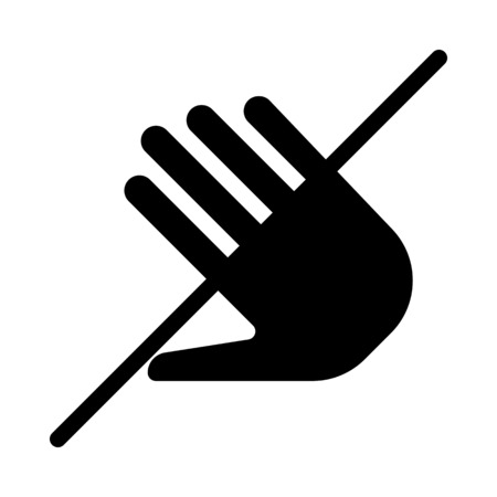 Dont Touch or Hands Off Ilustração