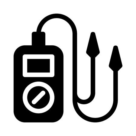 Multímetro de prueba eléctrica
