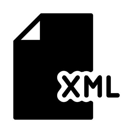 XML Coding File Ilustração