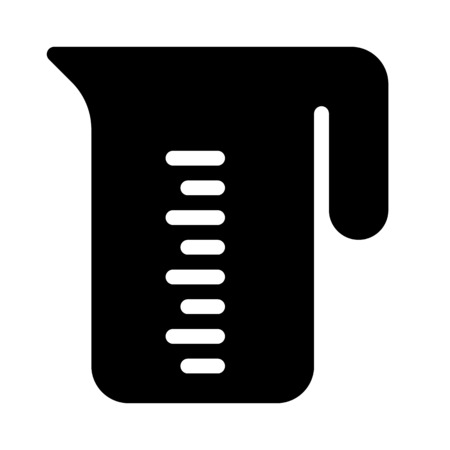 measuring cup Stock Illustratie