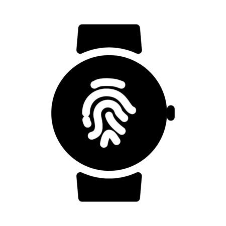 Smartwatch Fingerprint Sensor
