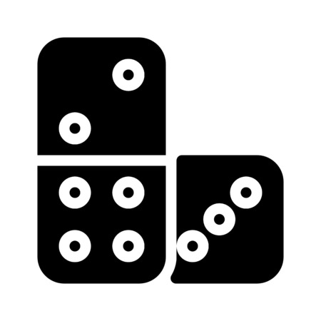 Domino Boardgames Tiles 向量圖像